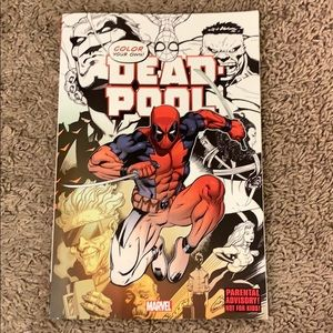 DEADPOOL coloring book
